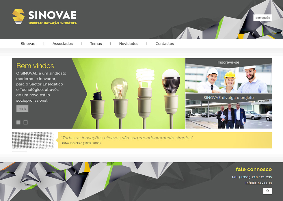 Website SINOVAE