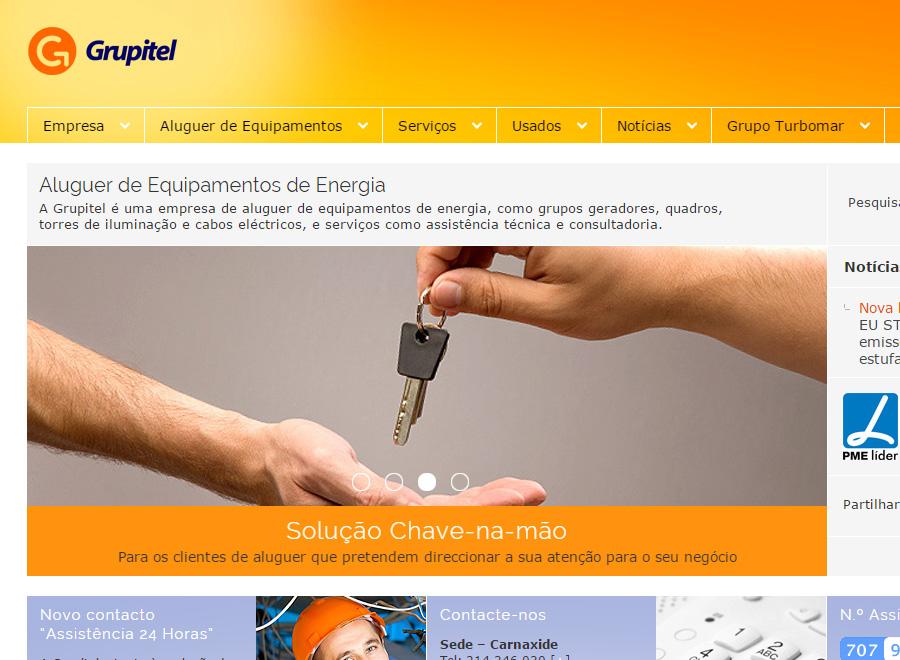 Sites Grupo TURBOMAR