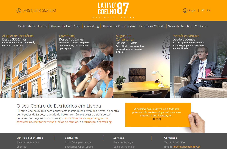 Latino Coelho 87 Site