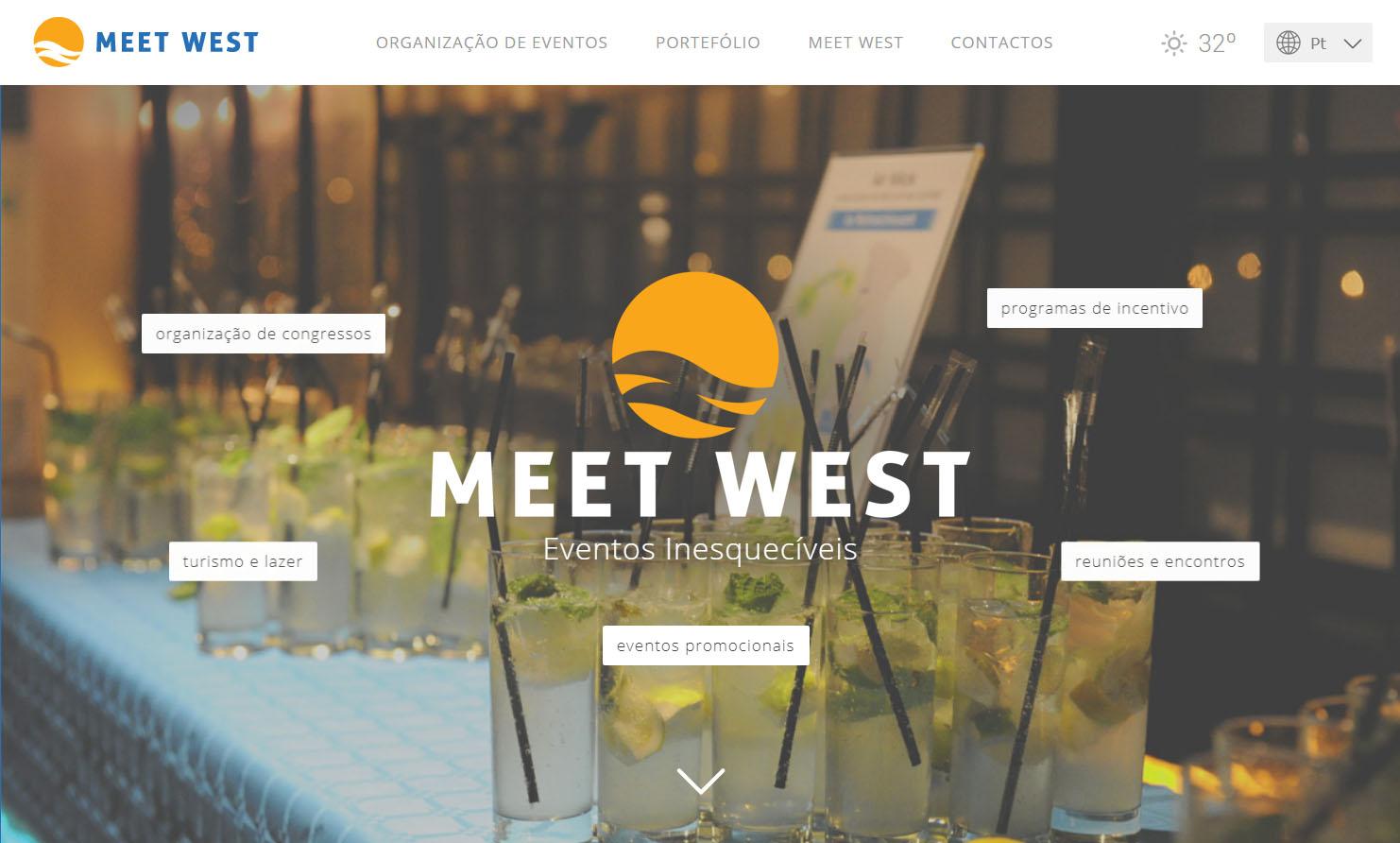 MEET WEST's Website