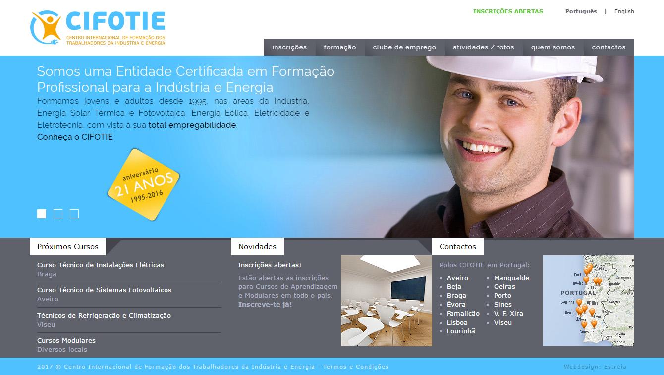 CIFOTIE's Website