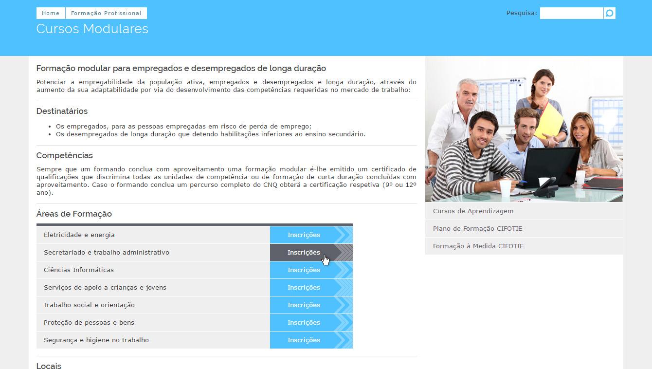 Website CIFOTIE